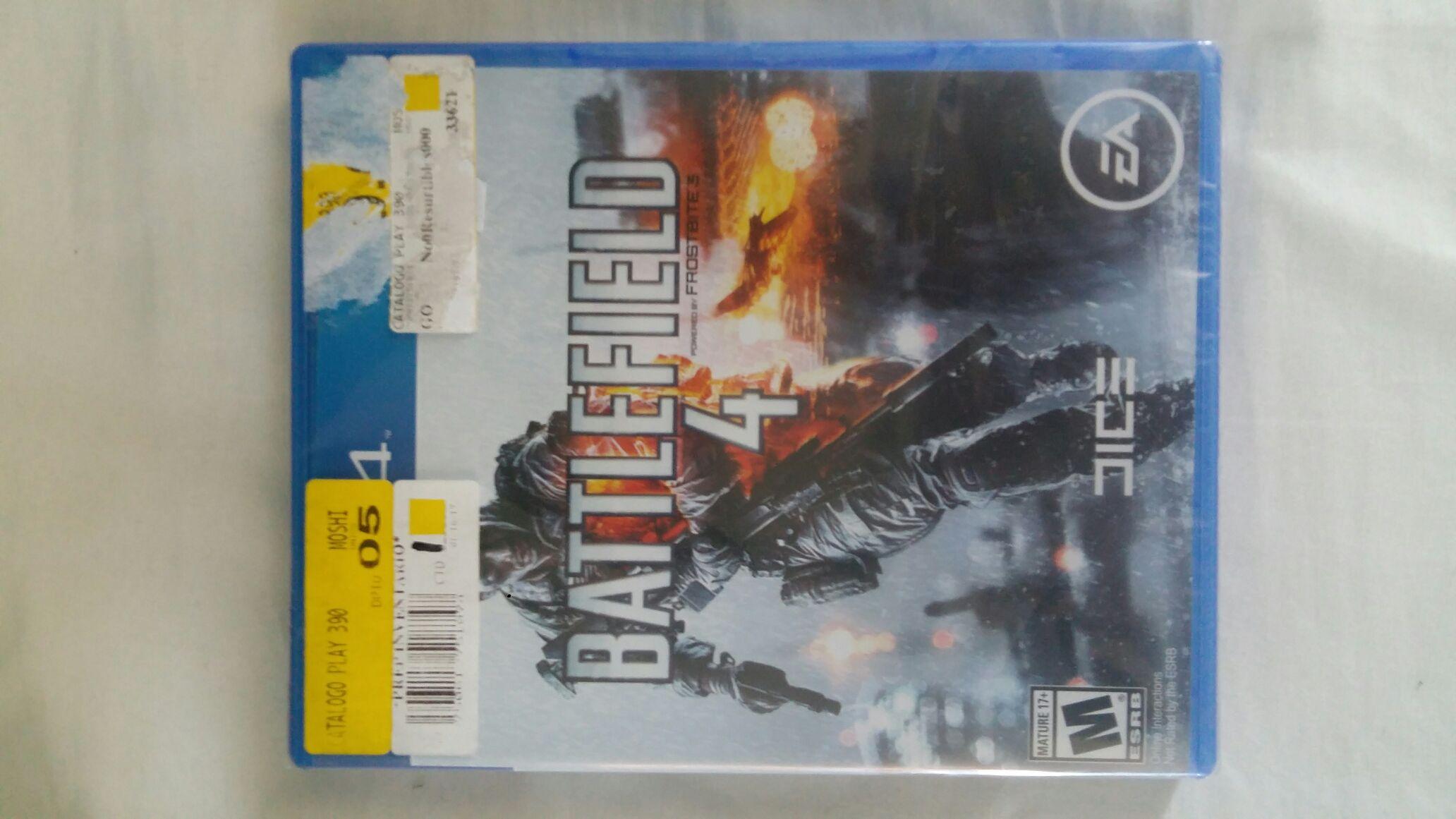 Bodega Aurrerá: Battlefield 4 para PS4