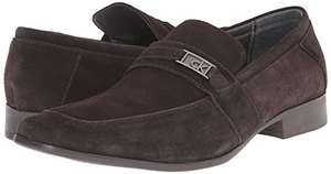 Amazon: zapatos Calvin Klein de los hombres Bartley – Suede Slip-On Loafer