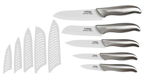 Amazon: juego cuchillos con pelador, de ceramica