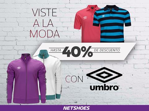 Netshoes - Hasta 40% de descuento en Umbro