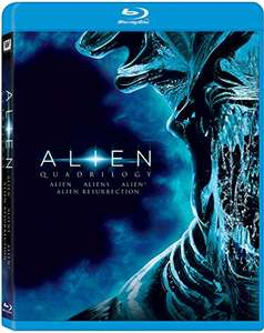 Amazon: Alien Quadrilogy en Blu-Ray