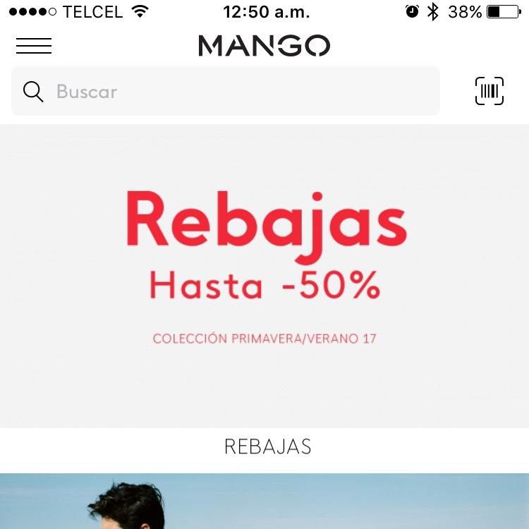 Mango: rebajas verano 2017 hasta 50% de descuento