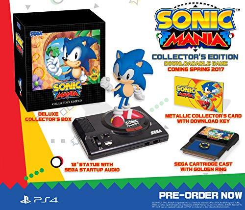 Amazon: Sonic Mania - PlayStation 4 - Collectors Edition