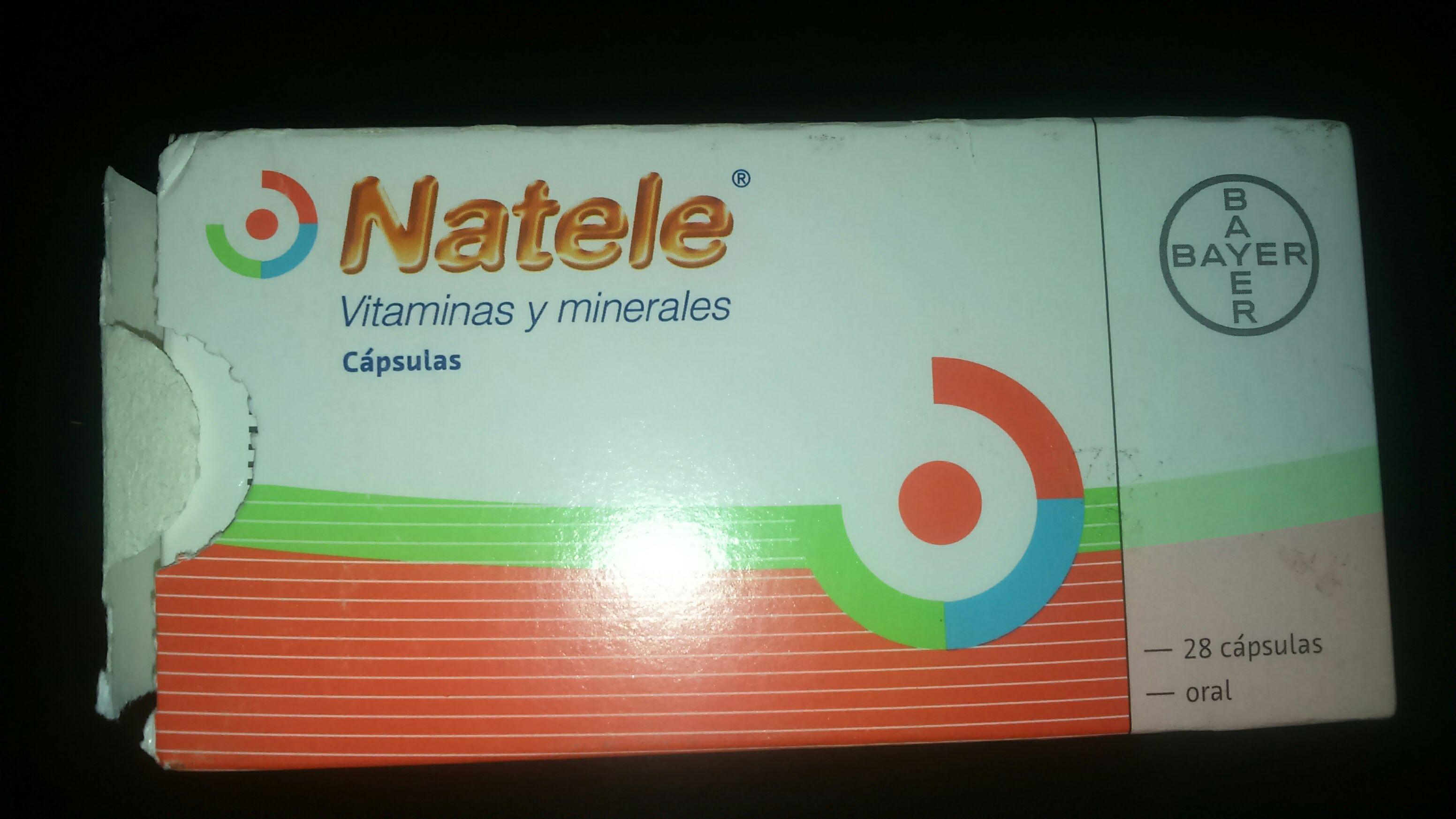 Bodega Aurrera: Vitaminas Natele con el 50% de descuento.