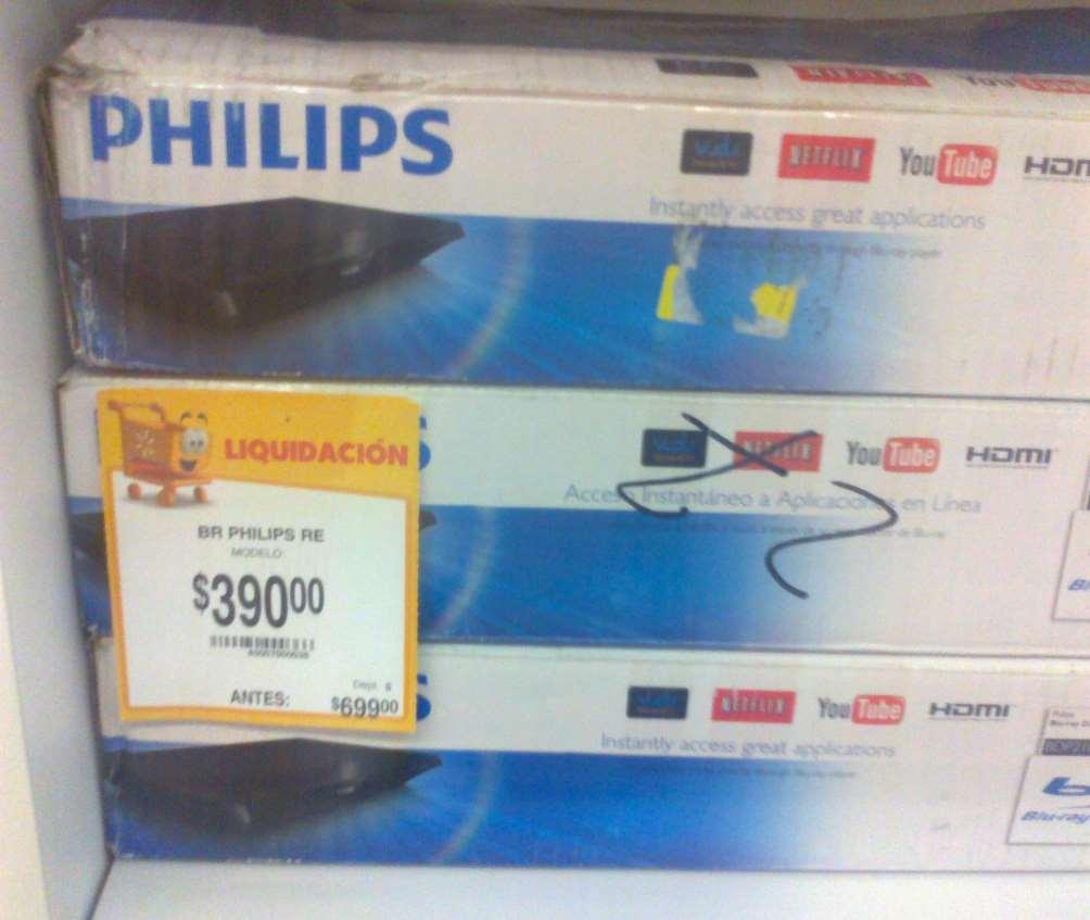 Walmart: Blu-Ray Phillips BDP2100 $390
