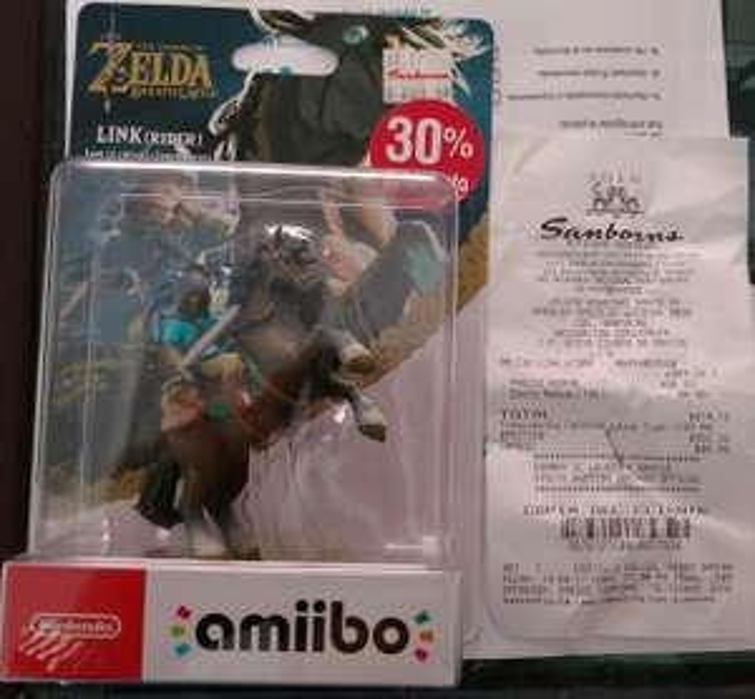 Sanborns: Amiibo Link Rider Zelda BotW