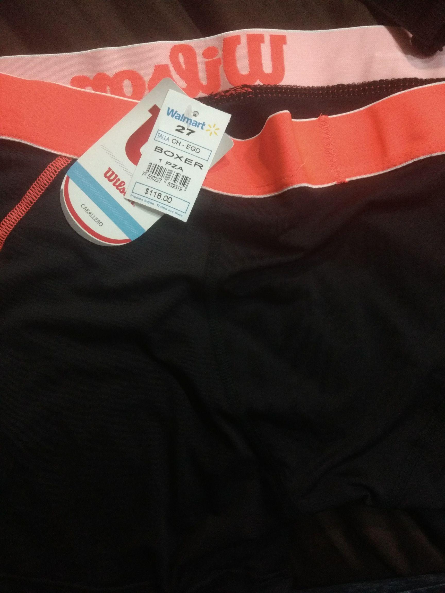Walmart: Boxer Wilson de $118 a solo $30.02
