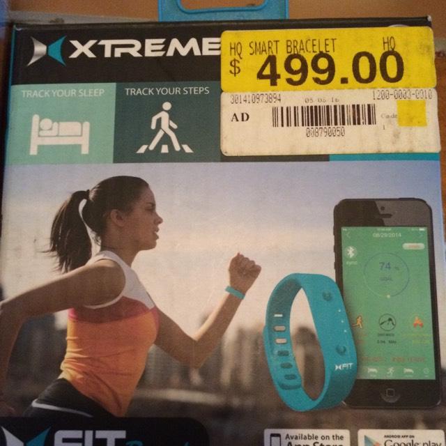 Walmart: Brazalete Smart Deportivo de $499 a $45.02