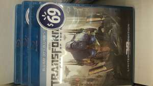 Walmart: Transformers 3: Dark of the Moon version 3D de 4 discos a $69