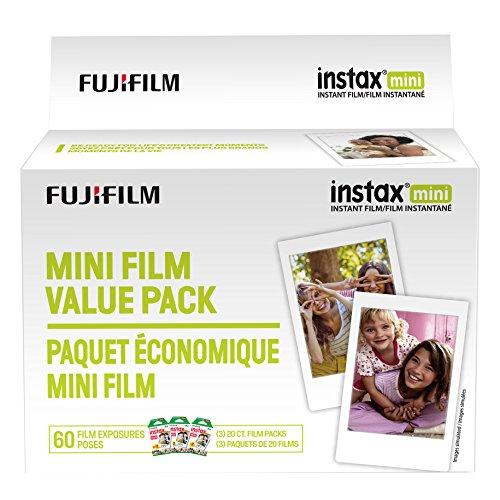 Amazon: Fujifilm Instax Mini Film Value Pack - 60 Images