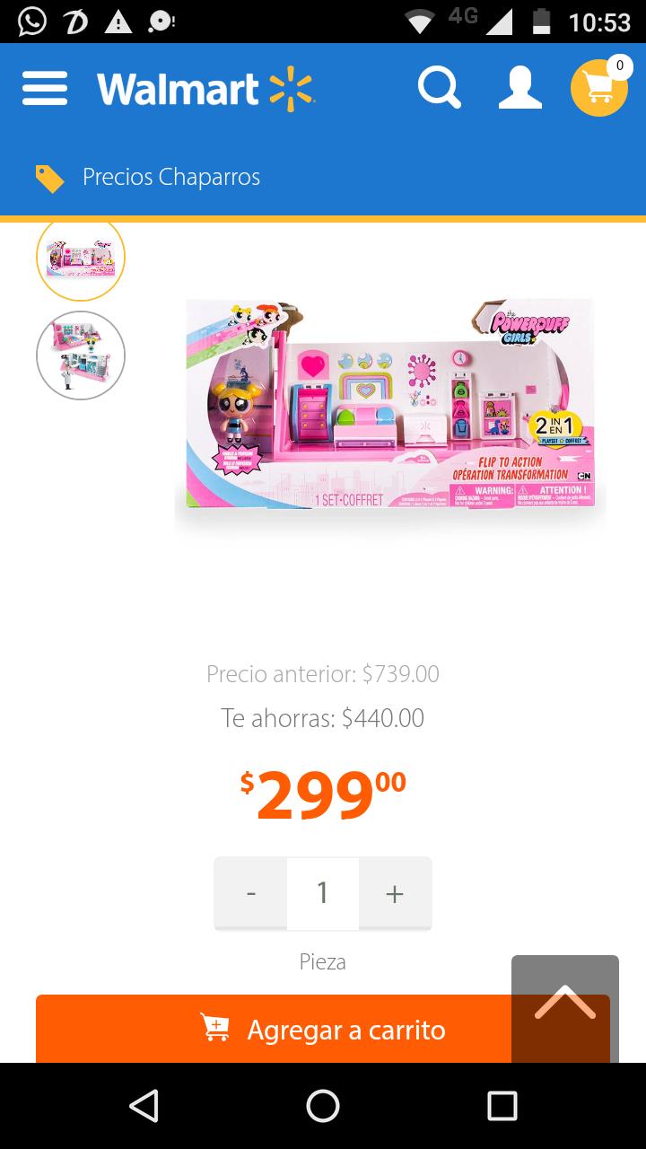 Walmart: Set dormitorio-laboratorio de las chicas súper poderosas de $739 a solo $299