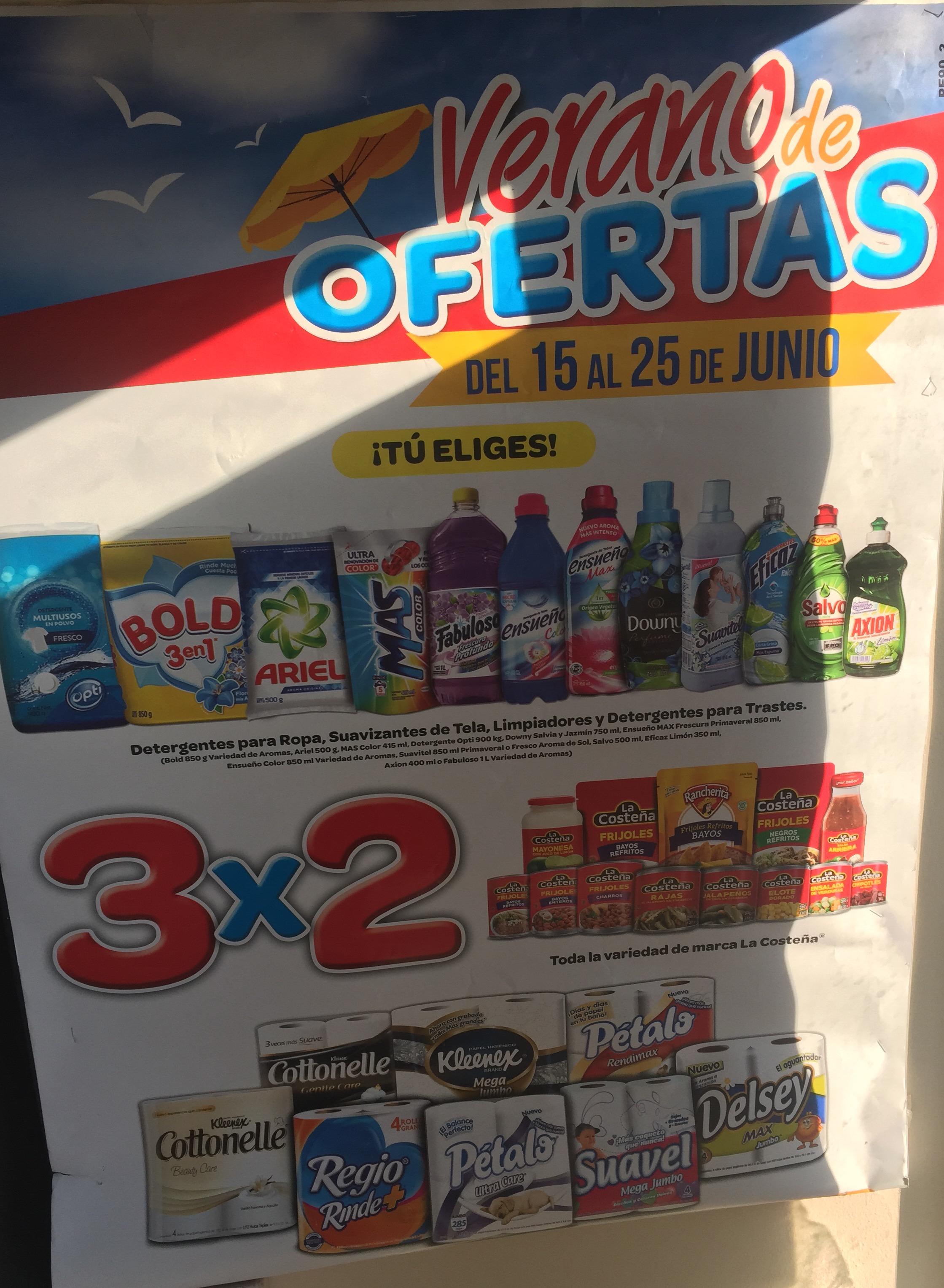 Oxxo: ofertas 3x2, detergentes, suavizantes y más