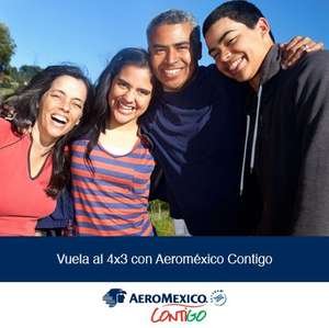 Aeroméxico: 4x3 comprando en call center o en oficinas de boletos