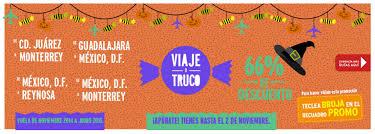 VIVAAEROBUS: Viaje o Truco! Vuela con 66% de descuento