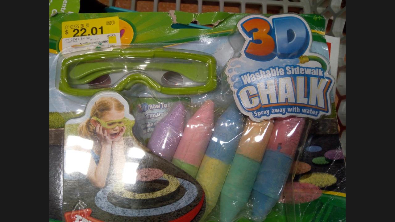 Walmart: 3D gises marca Crayola a $22.01