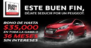 Ofertas del Buen Fin 2014 en Peugeot