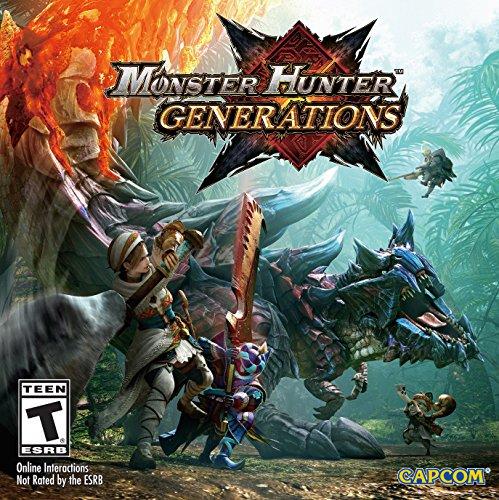 Amazon: Monster Hunter Generations para 3DS