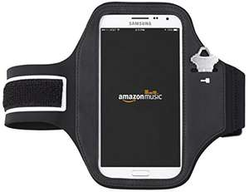 Amazon: Brazalete deportivo para iPhone 6, iPhone 6 s y Samsung Galaxy S6 AmazonBasics