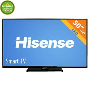 "Walmart: Smart TV Hisense 50"" Full HD $7,299"