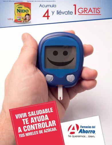 Folleto de ofertas en Farmacias del Ahorro noviembre 2014