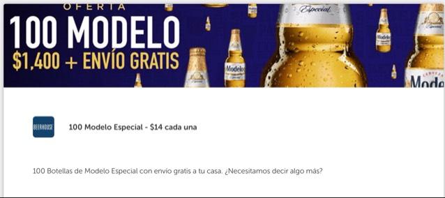 Descuentos y promociones en cerveza en BEERHOUSE