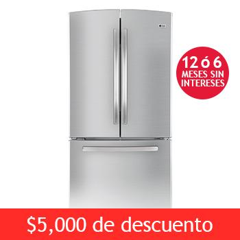 """Costco: Refrigerador GE Profile de 22' """"French Door"""" $16,999"""