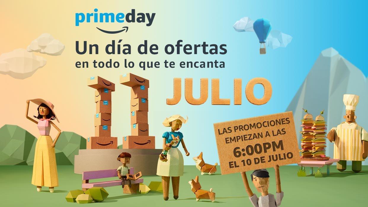 Amazon México: Prime Day a partir del 10 de Julio