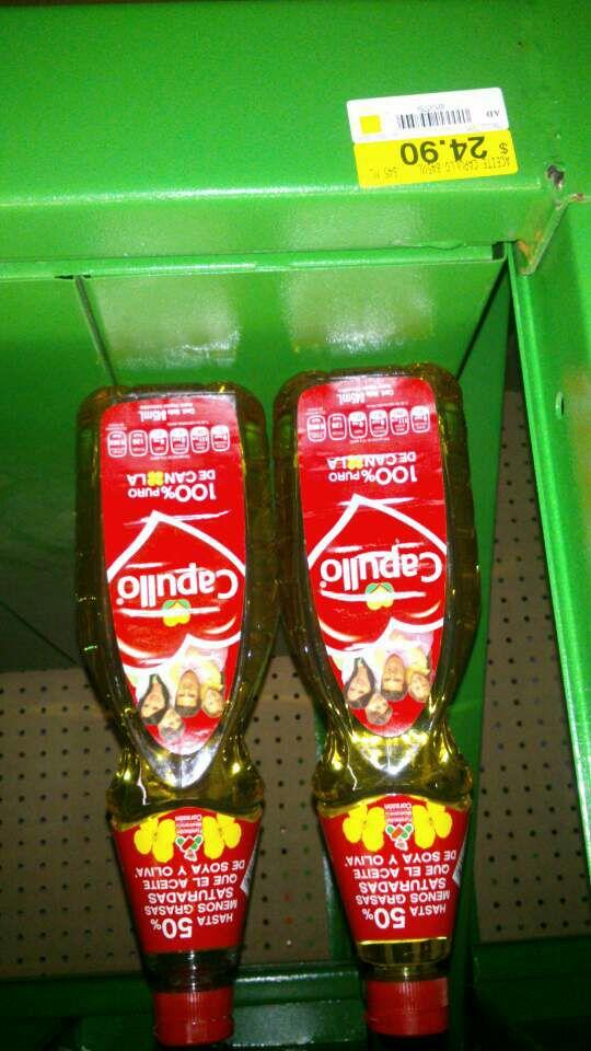 Bodega Aurrerá: Aceite Capullo 845 ml