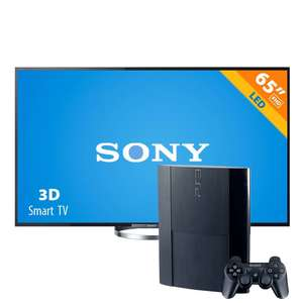 Walmart: pantalla LED 65' Sony Bravia 3D y Smart + Consola PlayStation 3 500 GB $16,990