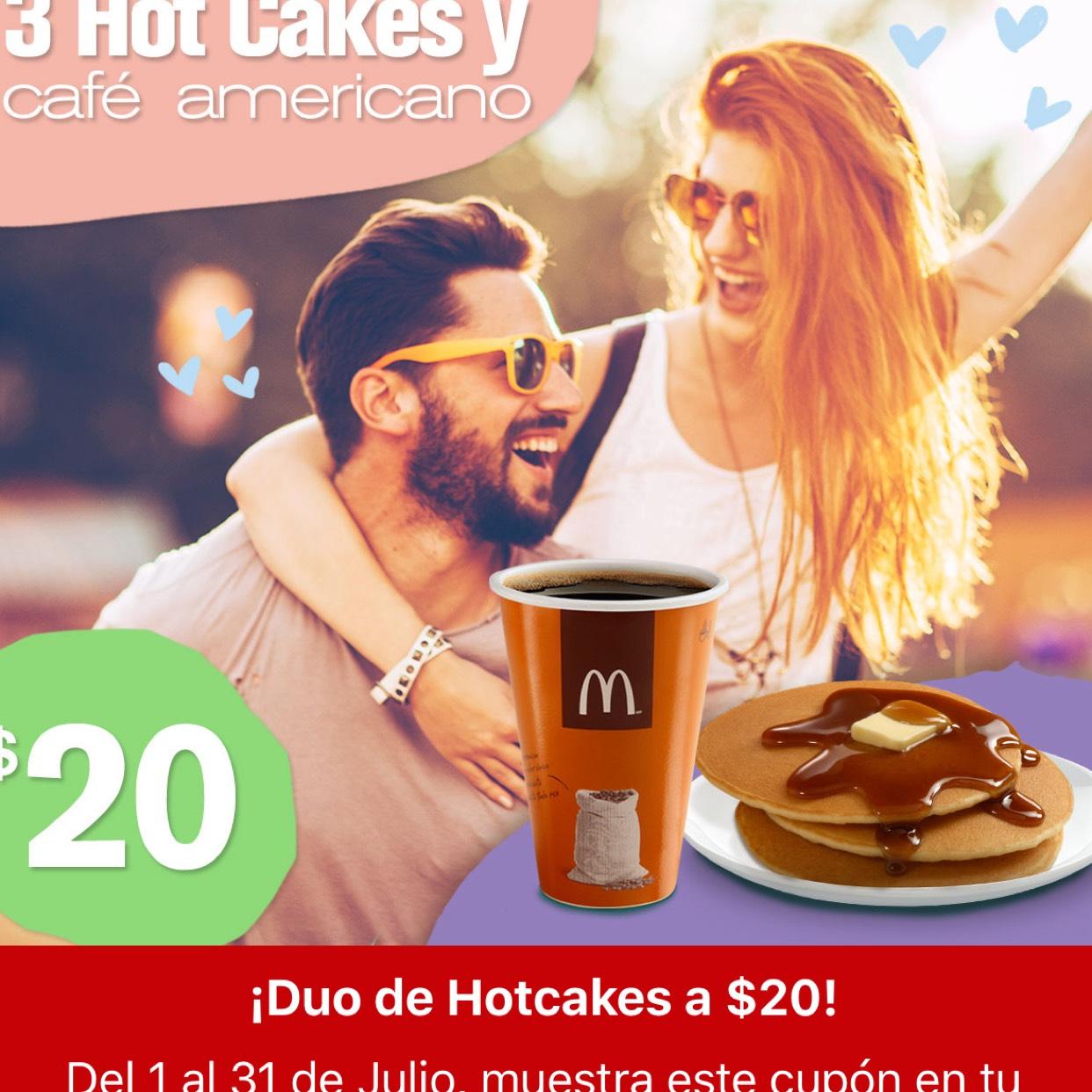 McDonald's: Cupones al 31 de Julio