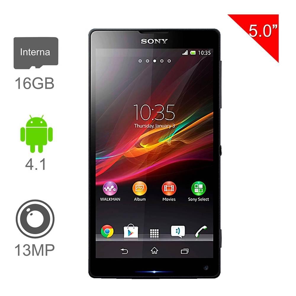 Walmart: Sony Xperia ZL Negro Iusacell $4,799