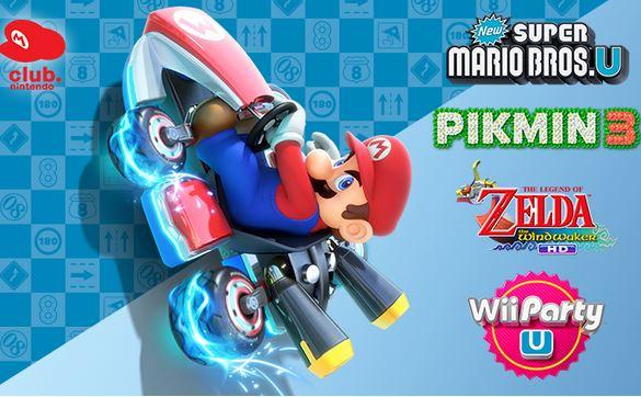 Nintendo: gratis descarga de juegode WiiU al comprar Mario Kart 8