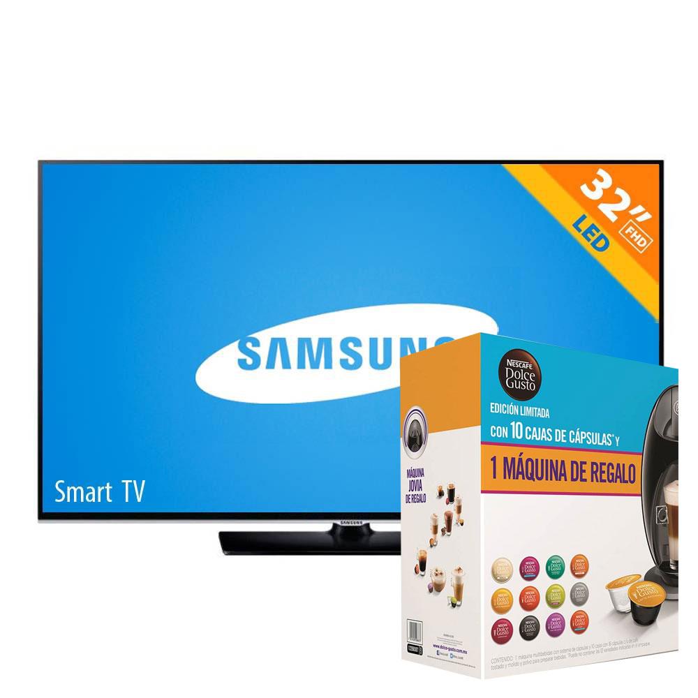 Adelantos El Buen Fin en Walmart: LED Smart TV Samsung + Paquete Dolce Gusto 10 Cápsulas y Máquina $4,999