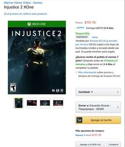 Amazon: INJUSTICE 2 para Xbox One
