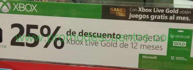 Ofertas del Buen Fin 2014 en Xbox: descuento en suscripción Xbox Live Gold