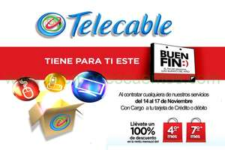 Promociones del Buen Fin 2014 en Telecable