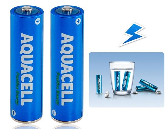 Baterías AA recargables. Activadas en agua.