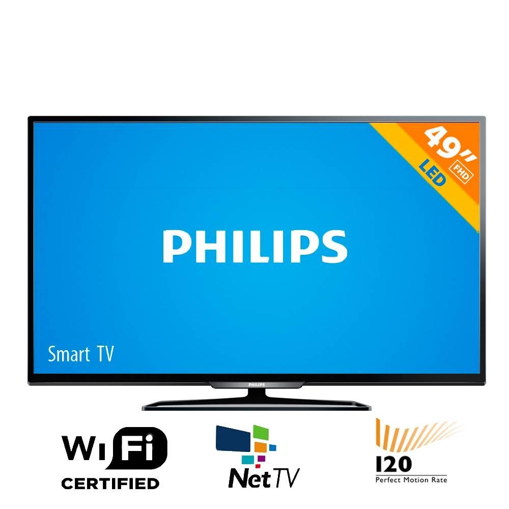"Walmart: Pantalla Philips 49"" FHD 120hz SmartTV $7490"