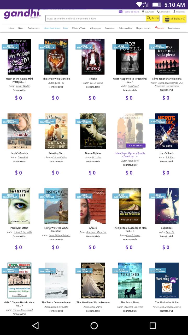 Gandhi: Varios libros electrónicos gratis