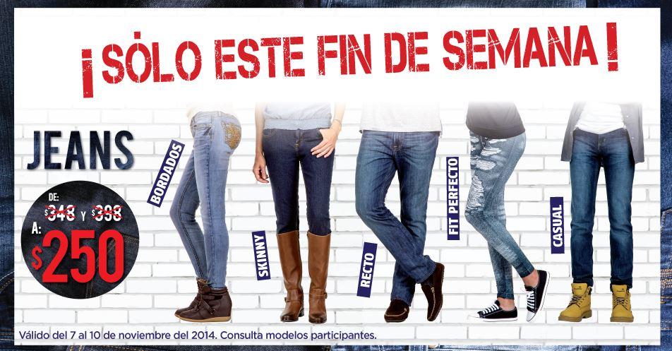 Suburbia: jeans rebajados a $250 y 20% en Levi's