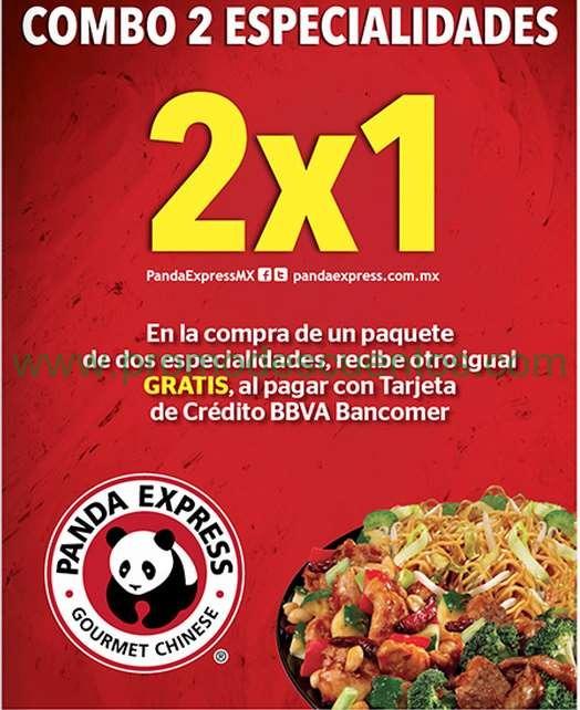 Panda Express: 2x1 con Bancomer