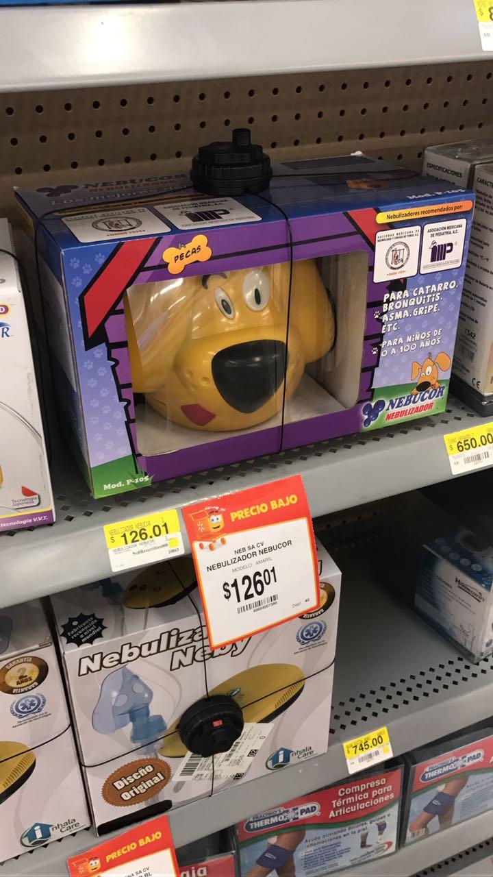 Walmart: Nebulizador NEBUCOR a $126.01