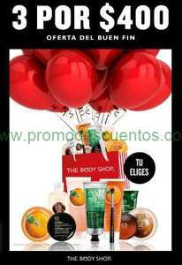 Ofertas del Buen Fin 2014 en The Body Shop