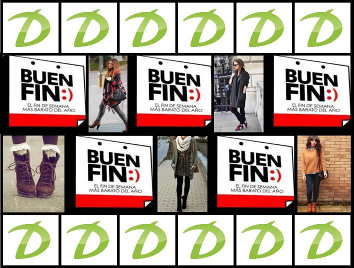 Ofertas y promociones del Buen Fin 2014 en tiendas de ropa, zapatos y accesorios