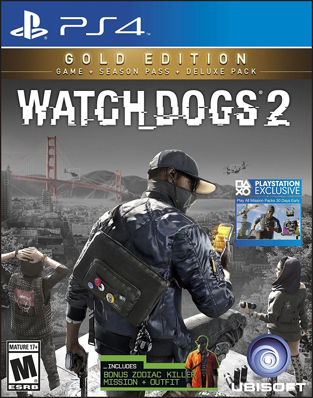 Amazon: Watch Dogs 2 Gold Edition PS4 (más $40 de envío)