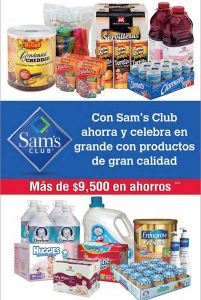 Folleto de ofertas Sam's Club del 2 al 26 de septiembre