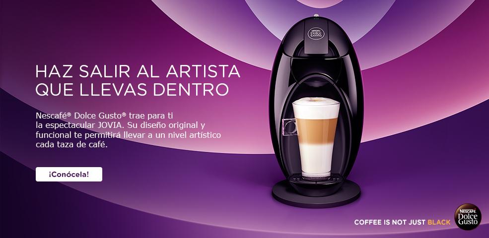 Tienda Dolce Gusto: Cafetera de regalo + 10 cajas de cafe (eliges sabores) $1,090