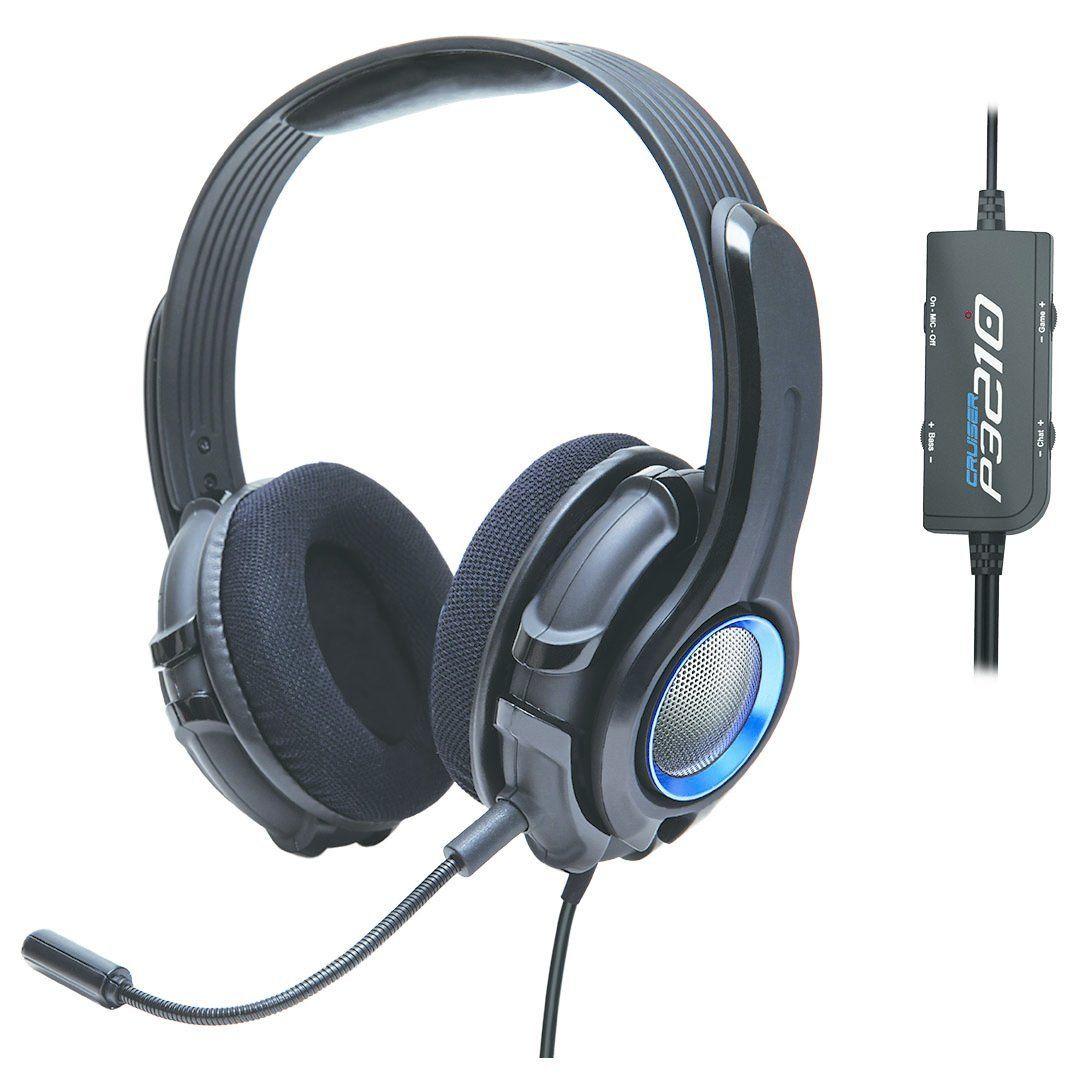 Amazon: SYBA Cruiser Biauricular Diadema Negro auricular con micrófono