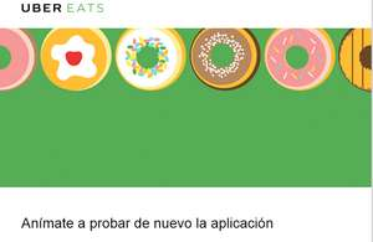 Dos entregas gratis en Uber Eats CDMX