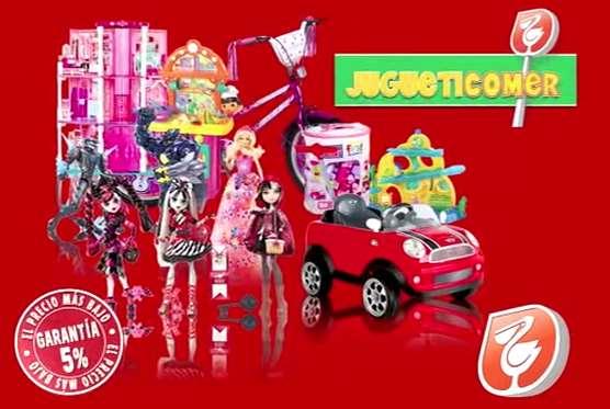 Garantía de precio en juguetes en Walmart y Comercial Mexicana: descuento extra